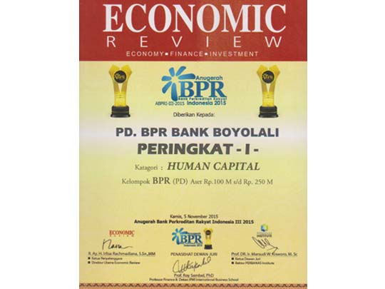 Anugerah BPR 2015 - Human Capital